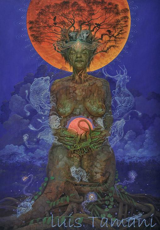 Luis Tamani Amor Artwork