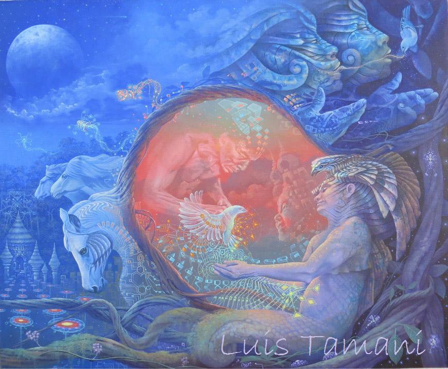 De los Cielos Ayahuasca Luis Tamani