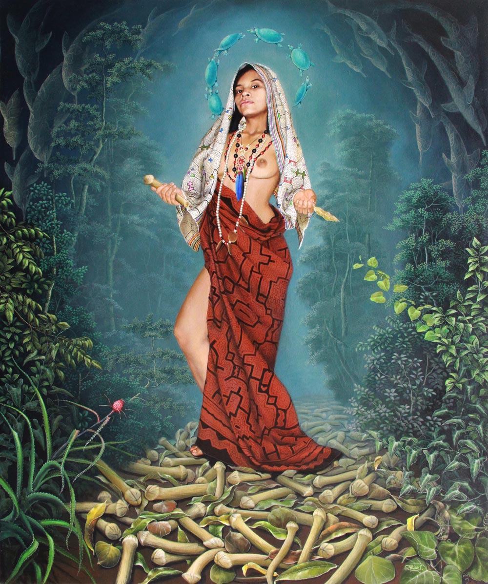 La Virgen del Capinurí by Graciela Arias Salazar